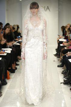 Theia White Bridal Fall 2014 - Slideshow - Runway, Fashion Week, Reviews and Slideshows - WWD.com