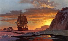 Midnight Sun, The Arctic William Bradford (1878)