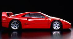 Ferrari's Iconic F40 Supercar Just Turned 30 Years Old #Classics #Ferrari