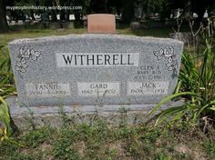 Tombstone Tuesday: Witherell