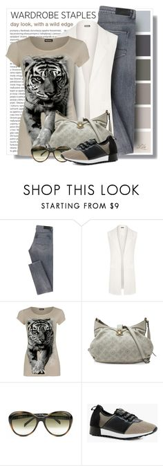 """""""Tried and True: Wardrobe Staples II"""" by breathing-style ❤ liked on Polyvore featuring Oris, WearAll, Louis Vuitton, Fendi and Boohoo"""