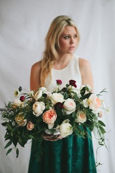 Photography : Kelly Brown Photographer Read More on SMP: http://www.stylemepretty.com/living/2015/02/17/whimsical-floral-centerpiece-tutorial/