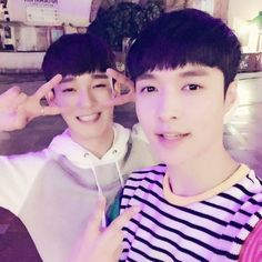 Yixing and Jongdae  Lay and Chen