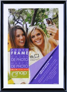 AmazonSmile - Snap Black Flex Float Frame, 5-Inch by 7-Inch - Luxury Frames