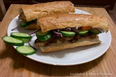 Бан Ми — вьетнамский сендвич с курицей (Bánh Mì)