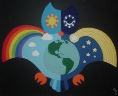 Owl Own World by ToonSkribblez on DeviantArt