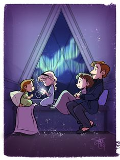 Sister and parents in frozen Frozen Disney, Frozen Art, Frozen And Tangled, Frozen Love, Disney Magic, Disney Films, Disney And Dreamworks, Disney Pixar, Frozen Drawings