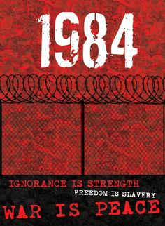 1984, George Orwell - If you haven't read this, I suggest you do, it's as frightening today as it was when it was first written, Big Brother IS watching you.