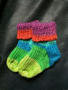 Ravelry: Baby Socks. Free pattern by Bianca Boonstra