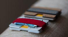 Metal wallet credit card wallet men and women by ElephantWallet, $24.99