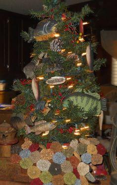 FISHING THEMED CHRISTMAS TREE INSPIRATION