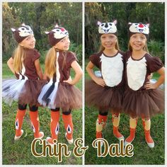 chip dale costume