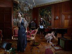 Sinister Surreal Paintings : Marie Rosen