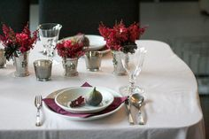 Fall table decoration  by Linda Seel