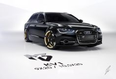Millergo with new work, an Audi S6 Wagon rendered in KeyShot.