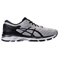 ASICS MEN'S GEL-KAYANO 24 RUNNING SHOES, GREY. #asics #shoes #