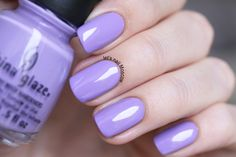 Nailpolis Museum of Nail Art | China Glaze Tart-y for the Party Swatch by Let's Nail Moscow