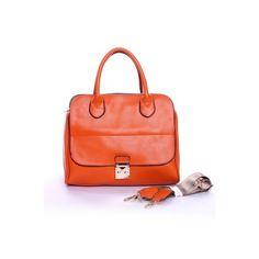 Retro Pink Middle Sized Handbag
