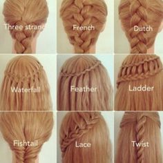Flotte fletninger i håret