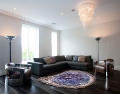 Tronco d'albero - pura seta - moderno e contemporaneo Area Rugs di Sonya Winner