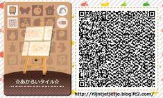 ☆flower tile,bright tile QR set ☆ PLAIN Tile 1 of 1 <-