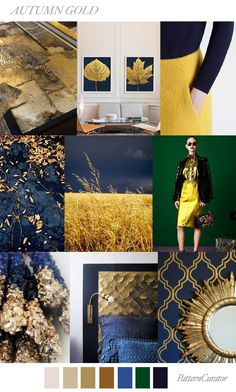 TRENDS | PATTERN CURATOR - AUTUMN GOLD . FW 2018