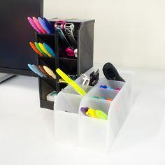 Amazon.com : STYLIO Office Desk Organizer   Caddies For Office/ Teacher  Supplies