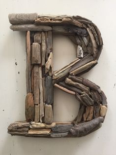 custom driftwood letter by mermaidsmasterpiece on etsy wwwetsycomshop