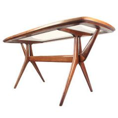 Sculptural Coffee Table  Style of Cesare Lacca / Scapinelli