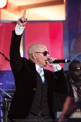 Pitbull- Finally got to see him in concert last night in ATL. It was AMAZING!! Danced the night away...Love Pitbull
