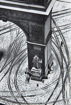 André Kertész, Washington Square, New York,1966.