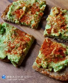 Avocados are full of heart-healthy fats and when combined with whole-grain toast they create a dish that's full of nutrients and flavor. Add a pinch of espelette pepper (available at most spice shops or gourmet groceries) for a touch of smokiness. #avocado #breakfast #recipes #vegan #vegetarian