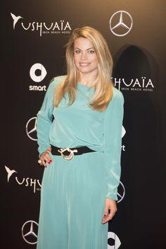 Carla Goyanes en el evento de presentación Smart Ushuaïa Limited Edition 2016