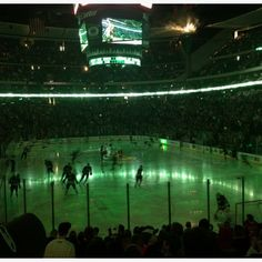 There is nothing better than Minnesota wild hockey at the X. April 2012. -nm