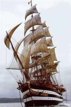 There's a part of me that wants to work on a tall ship and see the world like that. by lucy