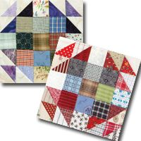 Fireweed block | Sept/Oct '14 issue of Quiltmaker