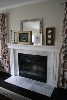 1000 Ideas About Fireplace Refacing On Pinterest Gas