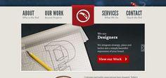 Web design inspiration: peapod.ca