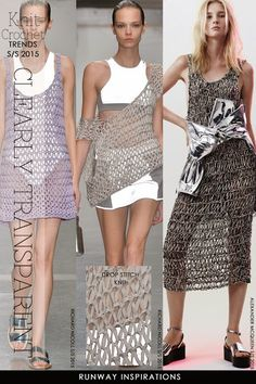 Open mesh is trendy, both in knitting and crochet - free patterns and ideas by DiaryofaCreativeFanatic