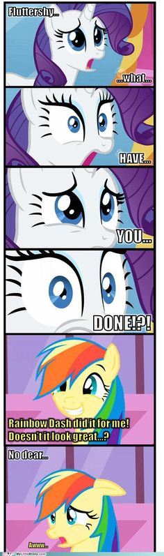 fluttershy what have you done