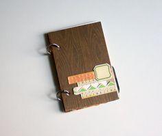 4x6 Woodgrain Toybox Boy Mini Album Kit No. 4 That a by waveney