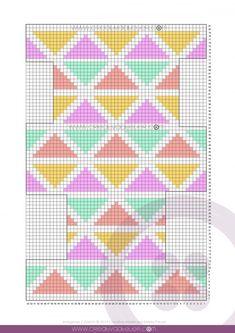 Neceser de Crochet Tapestry CUBE – Tutorial y Patrón – Tapestry CUBE Crochet Toiletry Bag [Free Tutorial and Pattern] Crochet Pouch, Crochet Chain, Crochet Stitches, Tapestry Crochet Patterns, Crochet Fabric, Knitting Patterns, Crochet Handbags, Crochet Purses, Tapestry Bag