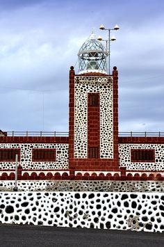 Faro Entallada,  Fuerteventura  Spain