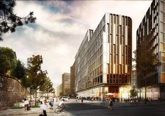 Schmidt Hammer Lassen Wins Competition to Design Mixed-Use Complex in Central…