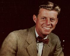 ivy-league-style:  College photo of JFK by his college friend Cam Newberry