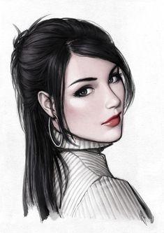 desenhos de mulheres em tumblrs - Pesquisa Google