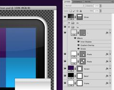 """Building Designs That Scale  -When it comes to building UI elements that scale easily in Adobe Photoshop, bitmaps are your enemy because they pixelate or become blurry when scaled. The solution is to create solid color, pattern or gradient layers with vector masks (just make sure you have """"snap to pixel"""" turned on, where possible). While a little awkward at times, switching to all vectors does have significant advantages."""