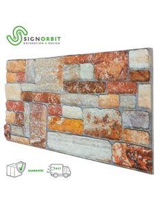 pannello finta pietra ricostruita effetto 3d superficie verniciabile Siena, New England
