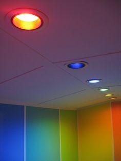 My rainbow office
