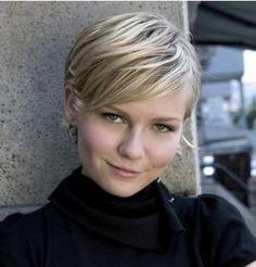 Kirsten Dunst short hair